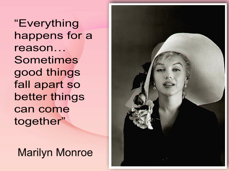 Marilyn Monroe quote collage