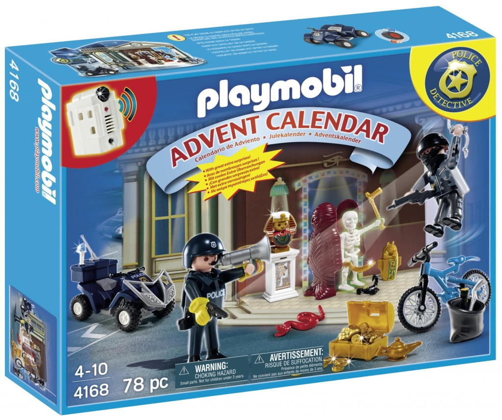 Playmobil Police Advent calendar 2014