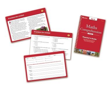 make homework fun maths comprehension cards
