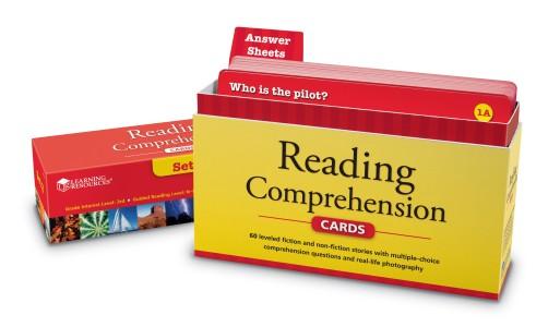 make homework fun reading comprehension cards
