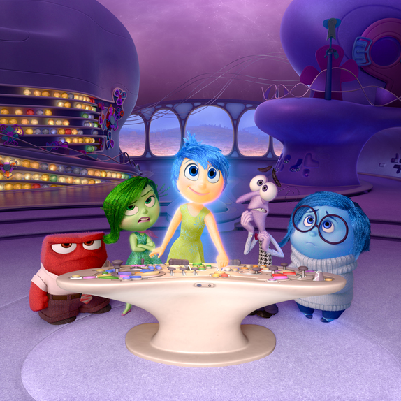 Disney Pixar film INSIDE OUT image