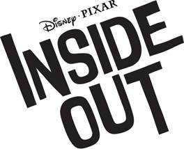 Disney Pixar film INSIDE OUT logo