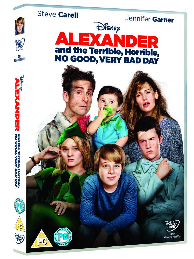 Disney alexander movie DVD competition