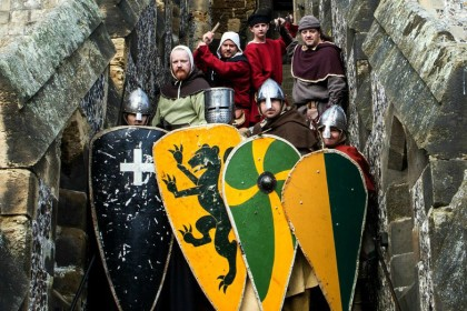 Normans and Crusaders in The Keep