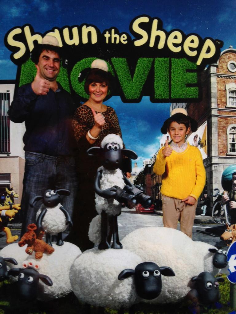 monica family pic shaun the sheep London Mums magazine