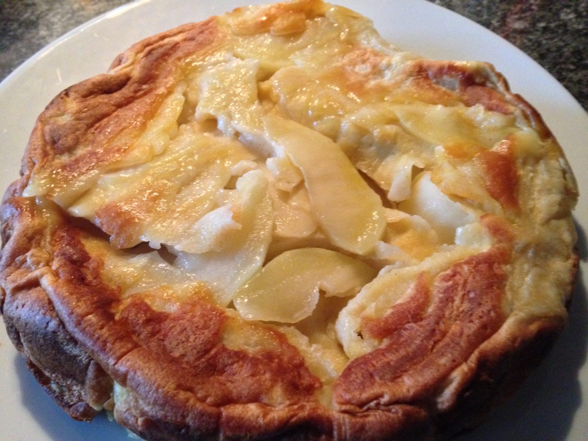 recipe german apple pancake apfelpfannkuchen london