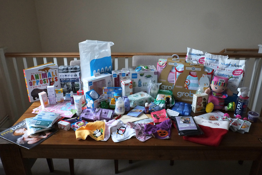 The Baby Show Goodie Bags