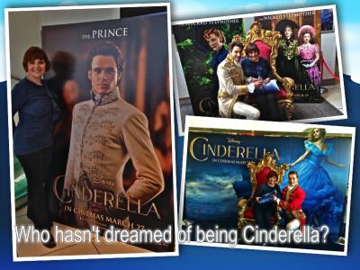 Cinderella Monica & Princes collage