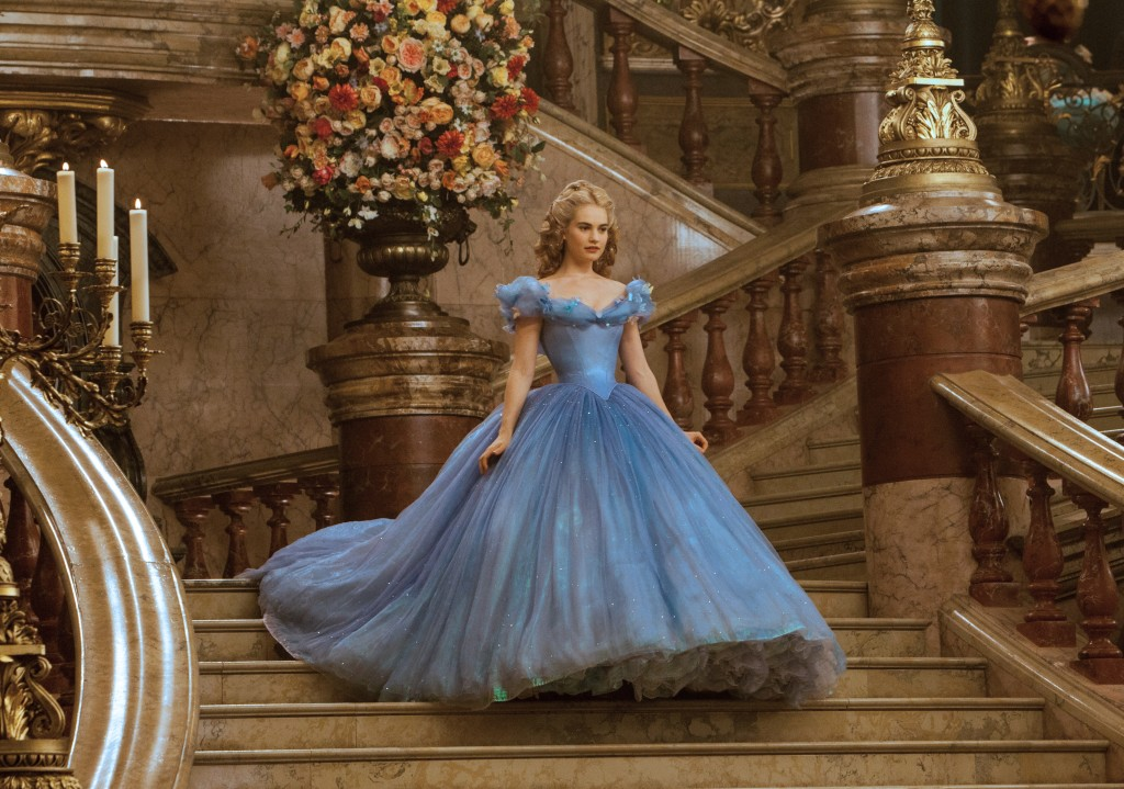 Cinderella's ball gown That dress - and that waist.