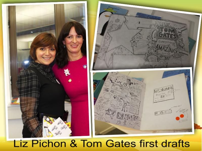Liz Pichon tom gates first draft books