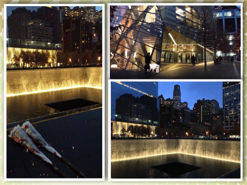 New York World trade center collage