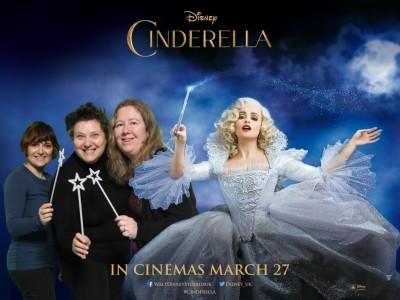 cinderella monica & london mums poster