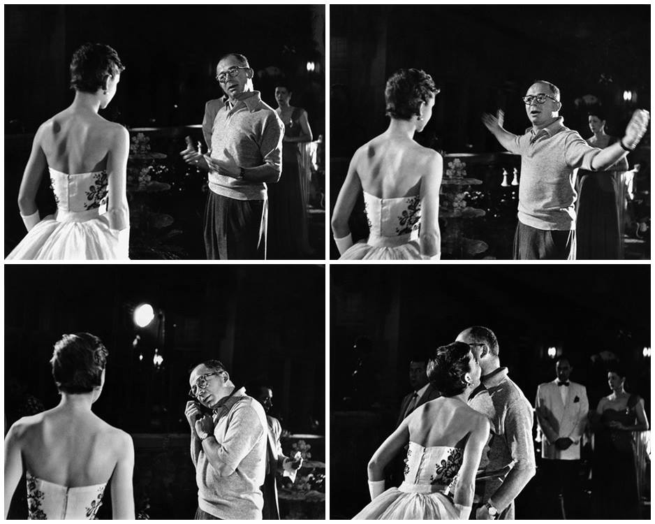 Quotes about Audrey Hepburn 1954, audrey & billy wilder