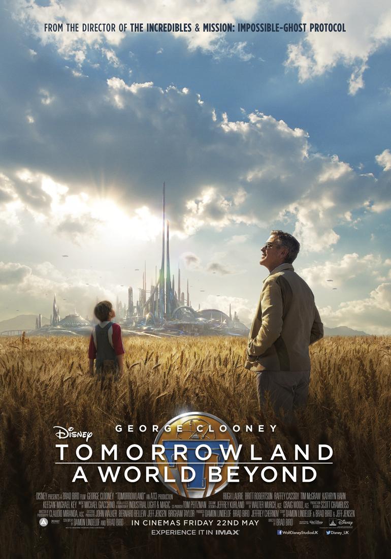 Disney's Tomorrowland poster_UK