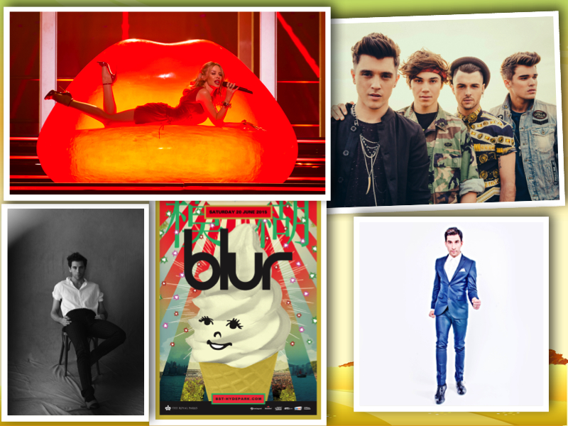 BST festival 2015 collage