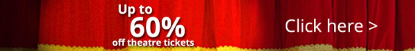 West End Show theatre tickets banner