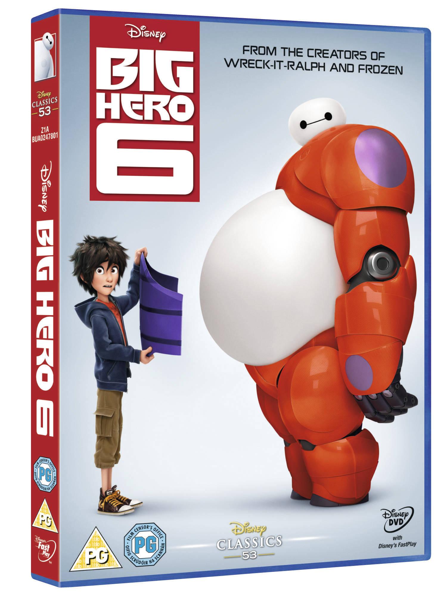 disney's big hero 6 DVD London Mums magazine competition