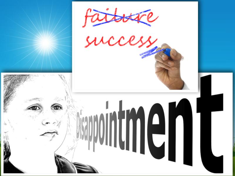 fear of failure success schooling kids
