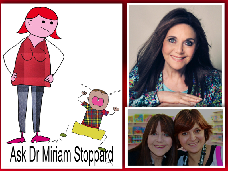 Ask Dr Miriam Stoppard collage