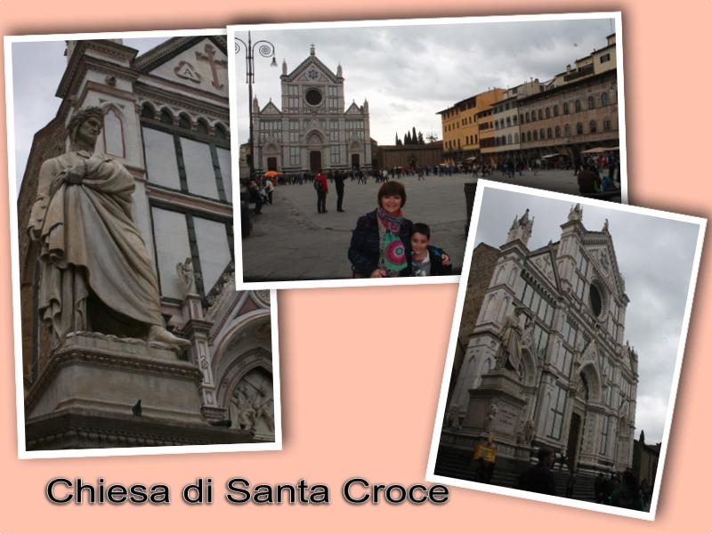 Chiesa di Santa Croce Firenze London Mums magazine collage