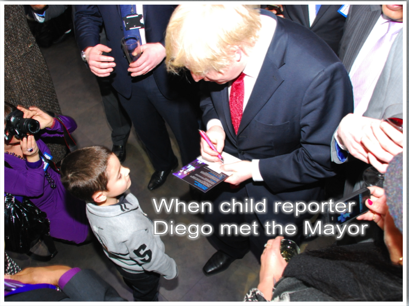 Diego meets the Mayor