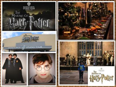 Harry Potter Studio Tour London Mums magazine collage