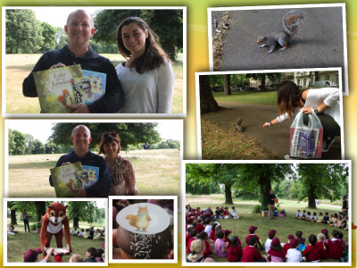 Hyde Park Squirrels event London Mums magazine collage