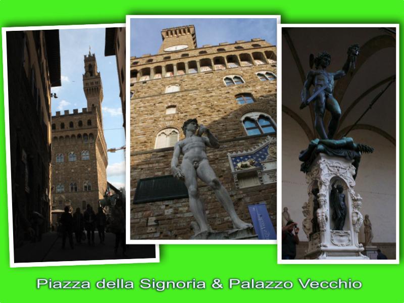 Piazza Signoria and Palazzo Vecchio london mums magazine collage