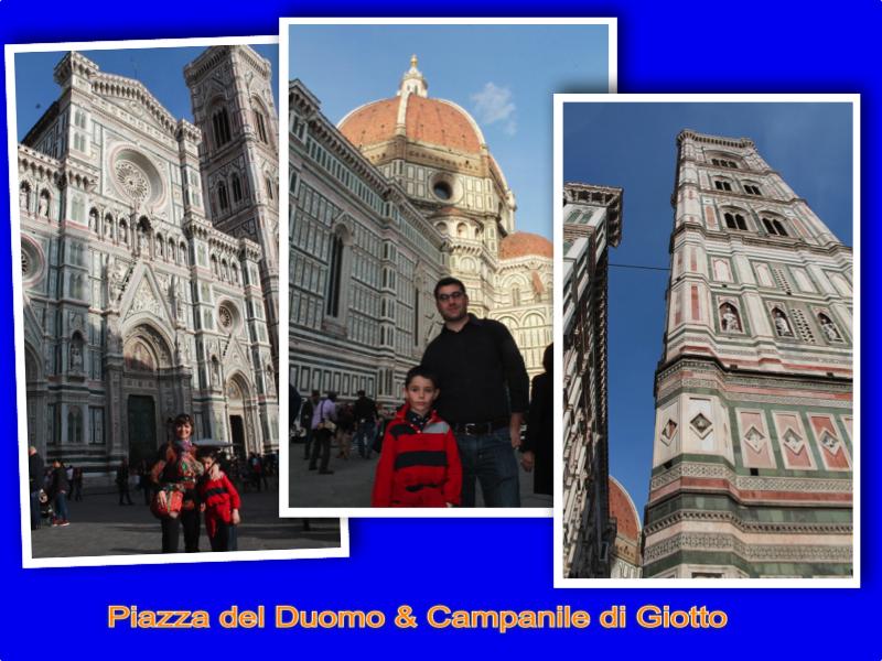 Piazza del Duomo & Campanile di Giotto Firenze London Mums magazine collage