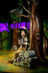Gruffalo2015Snake Ellie Bell, Owen Guerin (the Gruffalo) Timothy Richey (the Snake)