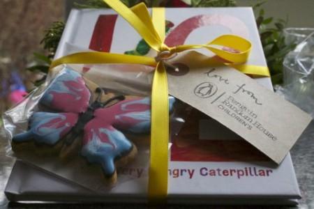 Penguin Random House Publishing goodie bag very hungry caterpillar