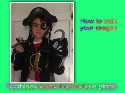 Toothless learns how to be a pirate