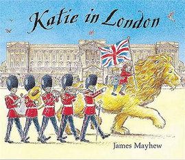 London books Katie in London by James Mayhew book