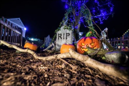 Halloween Half Term chessington halloween Market-Square-at-Night