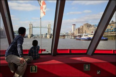 City Cruises River Thames family fun Sightseeingkids