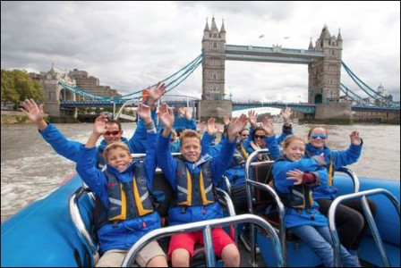 City Cruises River Thames family fun small_ThamesJet Aug -66