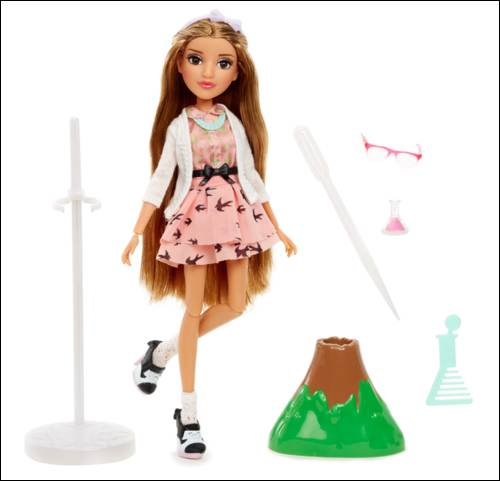 Project Mc2 Doll with Experiment Adriennes Volcano FW 063