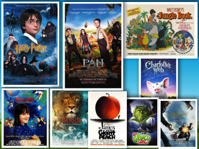 best Children's Book Adaptations collage