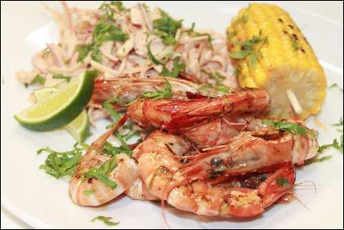 Margarita tiger prawns chipotle IMG_3035