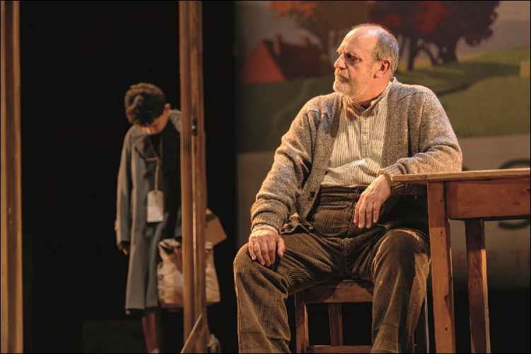 1. Alex Taylor-McDowall and David Troughton in Goodnight Mister Tom 2015 Credit Dan Tsantilis