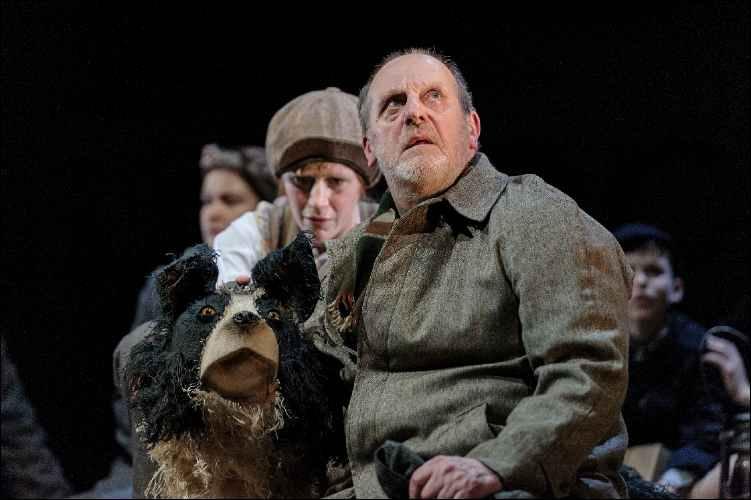13. David Troughton and Elisa de Grey in Goodnight Mister Tom 2015 Credit Dan Tsantilis