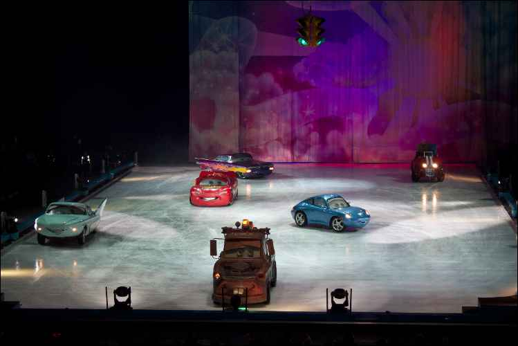 Disney on Ice London Kids First reactions cars