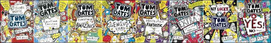 PG10-11-12 Tom Gates Books