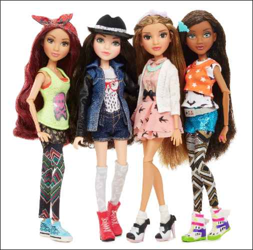 Project Mc2 Doll with Experiment group shot