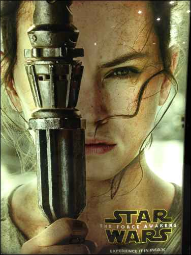 Star Wars - The Force Awakens Rey