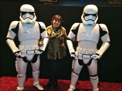 Star Wars - The Force Awakens monica and troopers