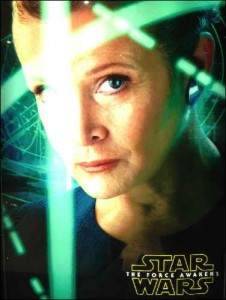 Star Wars - The Force Awakens princess leia