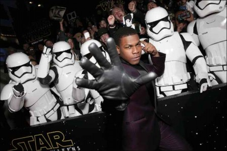 Star Wars - The Force Awakens troopers at world premiere