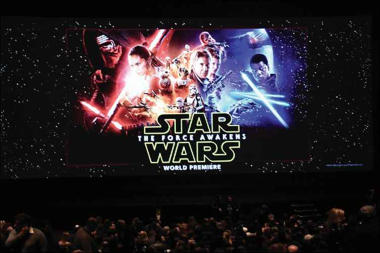 Star Wars - The Force Awakens world premiere screening
