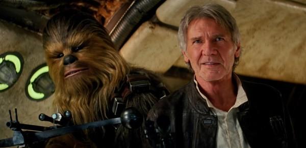 Star Wars pic han solo chewbacca